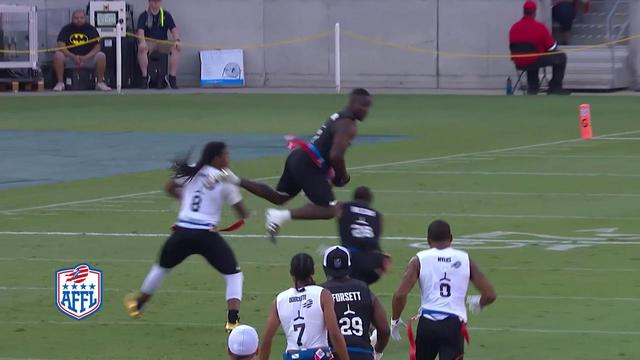 Godspeed player Lavelle Hawkins goes UP for leaping interception