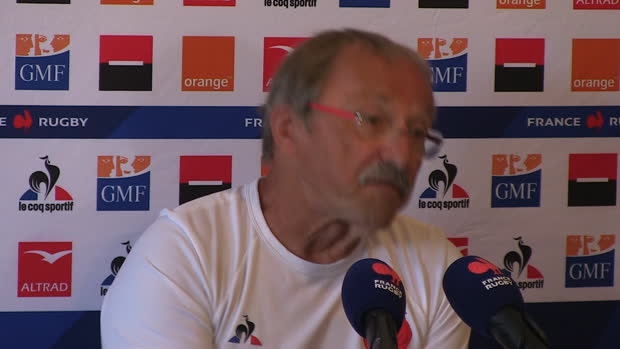 "Rugby : XV de France - Brunel - ""On essaye de remédier à nos carences"""