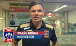 He left Brisbane at half time of the Club's clash against the Roar, arriving at John Hunter Hospital in time NOT to have missed the birth of his second child! Jets star Wayne Brown had this message for Jets fans!