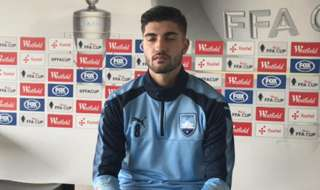 Sydney FC new boy Paulo Retre has revealed his desire for a win in this Wednesday's FFA Cup match against Melbourne City and what he thinks of the culture at the Sky Blues.