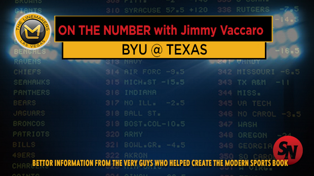 Jimmy V on BYU @ Texas