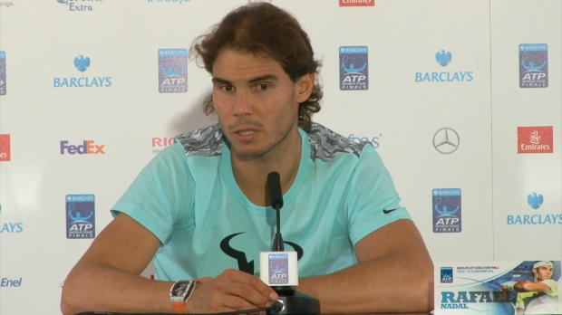 """London: Nadal: """"Nicht aufhören, zu arbeiten"""""""