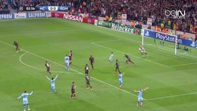 LdC : Manchester City 1-1 AS Rome