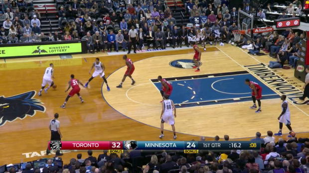 WSC: Karl-Anthony Towns goes for 35 points in win over the Raptors