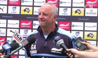 Sydney FC Head Coach said he's confident of extending the Sky Blues three year #SydneyDerby undefeated streak on Saturday night at Allianz Stadium.