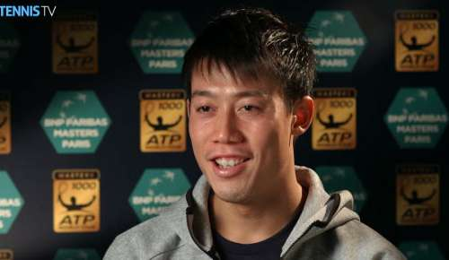 Nishikori Interview: ATP Paris 2R