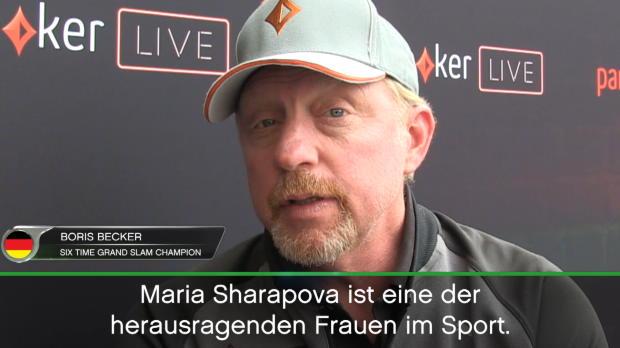 """Becker über Sharapova: """"Bescheidener werden"""""""