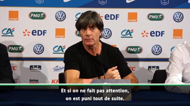 Allemagne - Low - 'Je suis déçu du résultat'