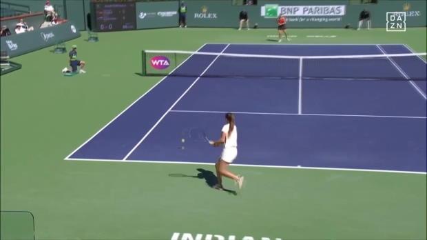 WTA: Eingesprungene Rückhand von Kasatkina