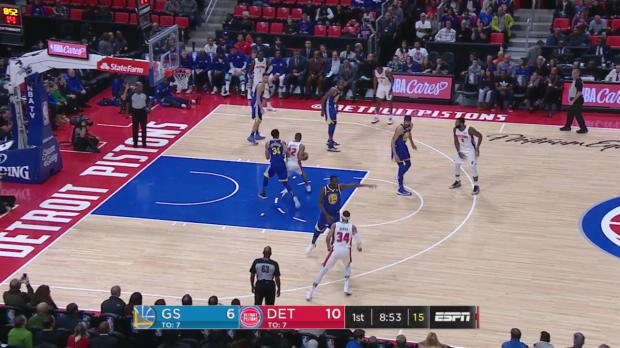 WSC: Kevin Durant (36 points) Highlights vs. Detroit Pistons