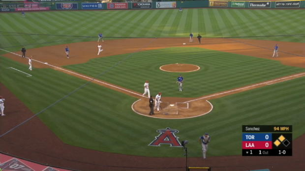 WP scores Trout in 1,000th game
