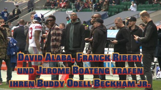 FCB-Stars und die NFL: Reunion mit Beckham Jr.