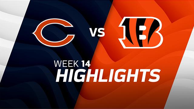 Chicago Bears vs. Cincinnati Bengals highlights | Week 14