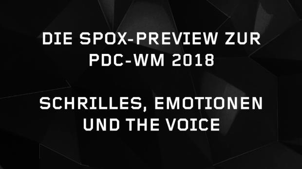 Darts: Die große Preview zur PDC-WM