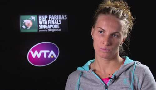 Kuznetsova Interview: WTA Singapore 2R