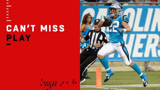 Can't-Miss Play: McCaffrey burns 'Fins for 71-yard TD