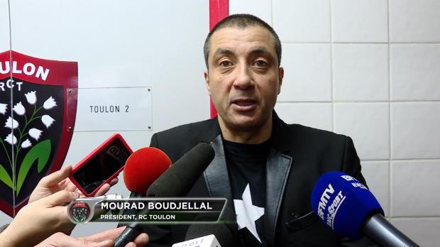 RCT - Boudjellal - 'Michalak nous sauve'