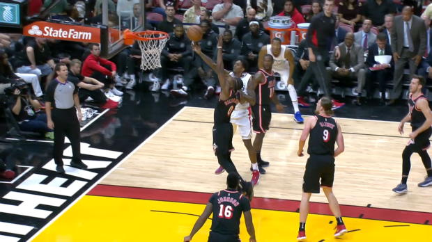 Block Of The Night: Josh Richardson