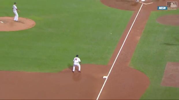 Red Sox gelingt Triple Play