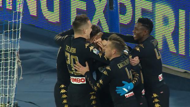 Napoli 3-1 Spezia, TIM Cup 2016/17