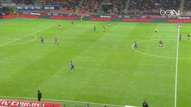 Serie A : AC Milan 1-1 Fiorentina
