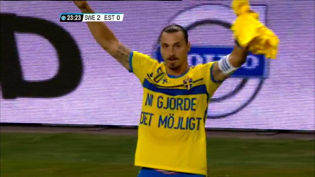 Amical - Le but qui fait entrer Zlatan dans l'histoire