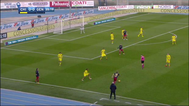 Chievo Verona - CFC Genua