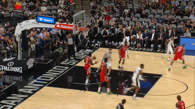 HOUSTON ROCKETS at SAN ANTONIO SPURS
