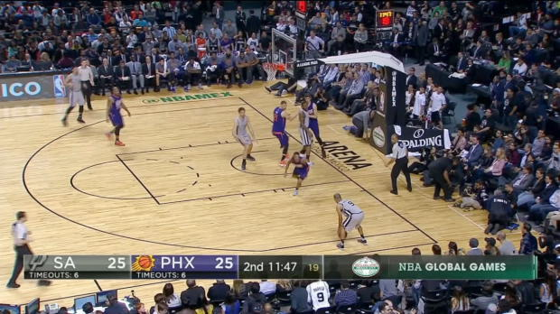 GAME RECAP: Suns 108, Spurs 105