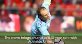 Melbourne City have bolstered their keeping stocks for next season after signing former Adelaide United skipper Eugene Galekovic.