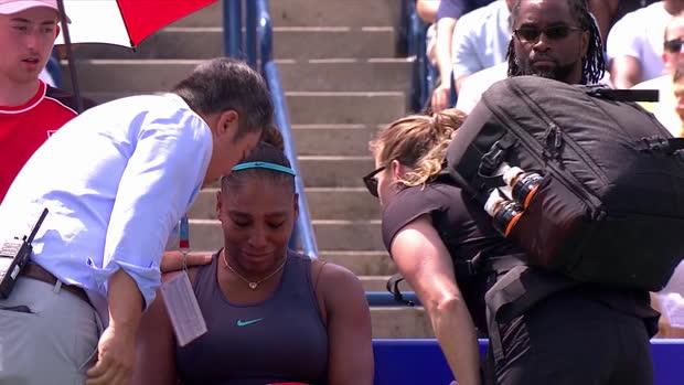 : Toronto - Williams abandonne, le titre pour Andreescu