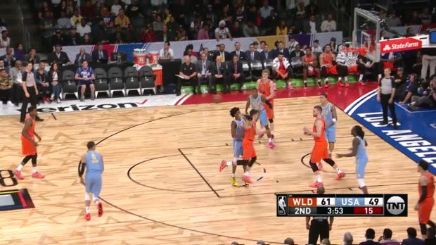 WSC: Bogdan Bogdanovic with 7 3-pointers vs. Team USA