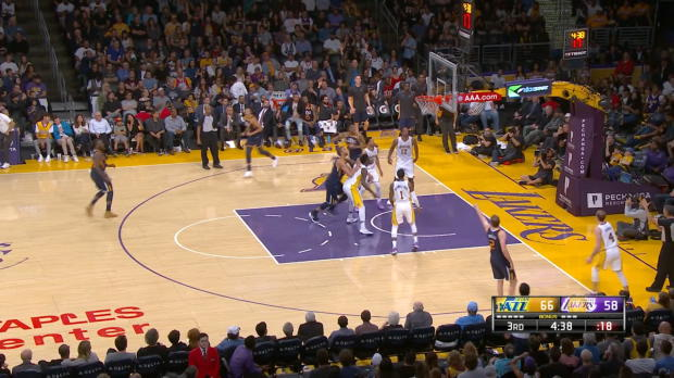 Assist Of The Night: Donovan Mitchell