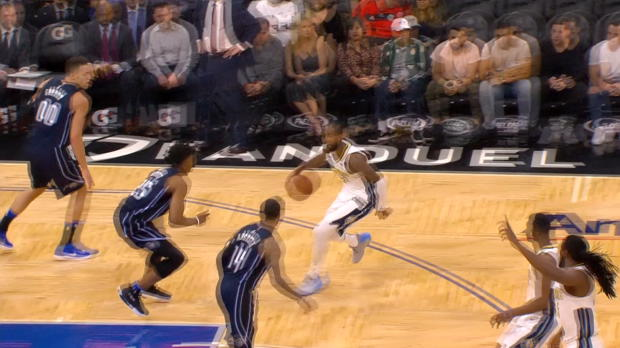 Assist of the Night: Will Barton