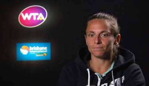Vinci Interview: WTA Brisbane 2R