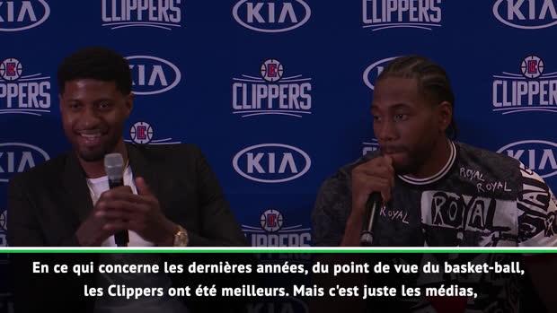 """Basket : Clippers - Kawhi Leonard - """"Les Clippers ont été meilleurs que les Lakers"""""""