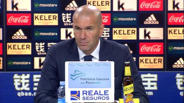 """Zidane: """"Bale ist auf einem guten Weg"""""""