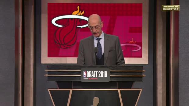 Miami Heat select Tyler Herro 13th overall