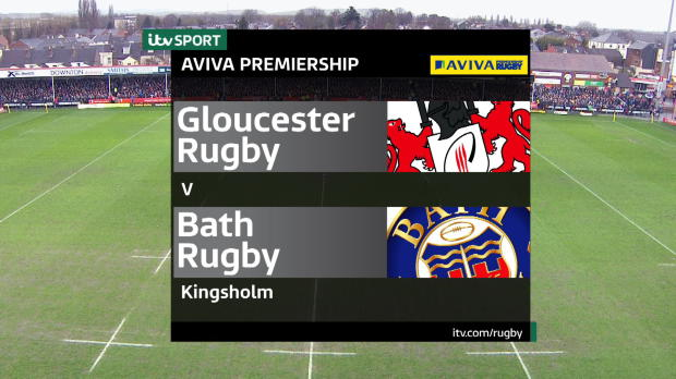 Aviva Premiership - Match highlights, Gloucester Rugby v Bath Rugby