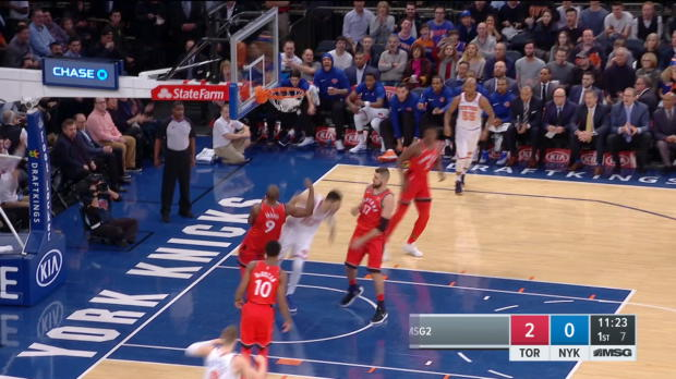 Dunk of the Night: Enes Kanter