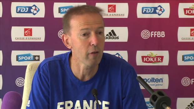 """Basket : FIBA - Bleus - Collet - """"L'Espagne a un compte à régler"""""""