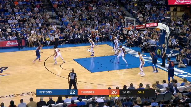 GAME RECAP: Pistons 99, Thunder 98