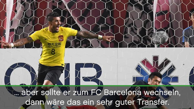 """Rivaldo sieht """"Neymar in Messis Fußstapfen"""""""