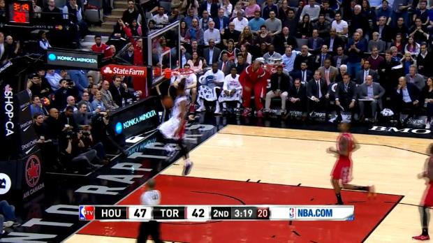 Basket : NBA - Le Tomahawk de DeRozan