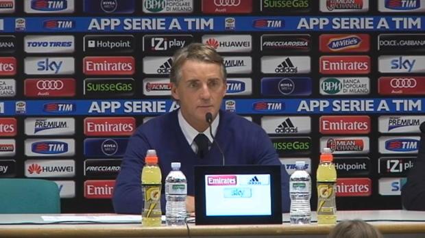 Pour son retour sur le banc de l'Inter Milan, Roberto Mancini a vu son équipe décrocher le match nul dimanche lors du derby contre l'AC Milan 1-1.