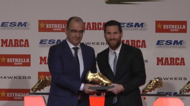 La Liga - Messi remporte son cinquième Soulier d'Or