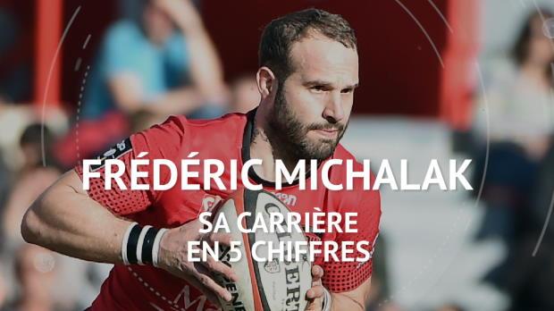 Rugby : Retraite - Frédéric Michalak, sa carrière en 5 chiffres