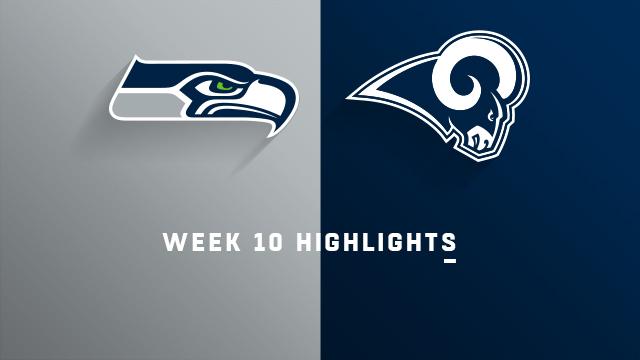 Seahawks vs. Rams highlights   Week 10