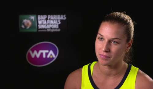 Cibulkova Interview: WTA Singapore RR