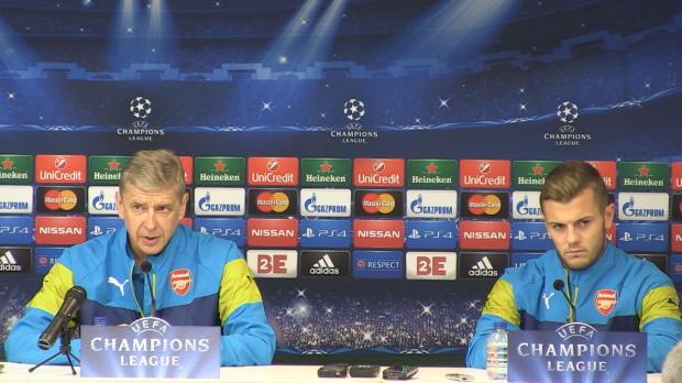 """Foot : LDC - Groupe D : Wenger : """"Etre plus efficace"""""""